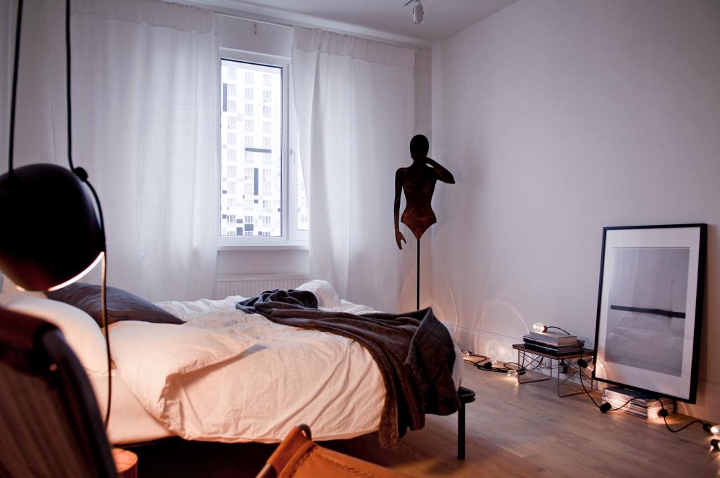 дизайн проект квартиры в панельном доме, дизайн панельки, дизайн двухкомнатной квартиры, скандинавский интерьер, жк ривер парк
