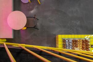 дизайн проект кафе, дизайн проект ресторана, дизайн проект кофейни, проект ресторана, проект кафе, современное кафе, интерьер ресторана, бетон